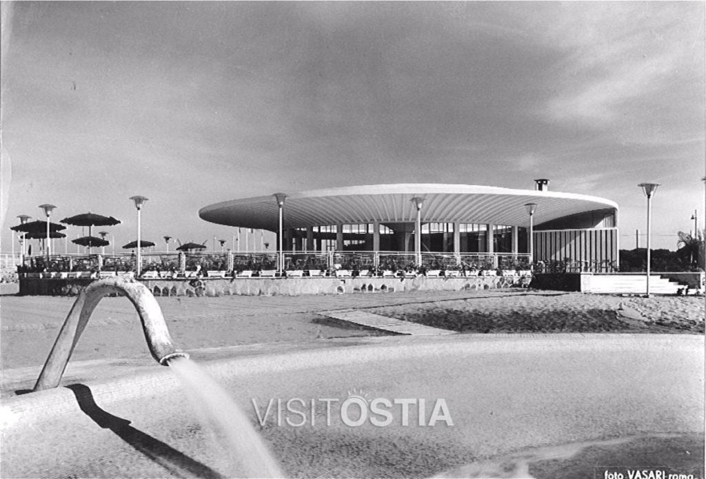 "VisitOstia - stabilimento ""Kursaal (anni '50)"