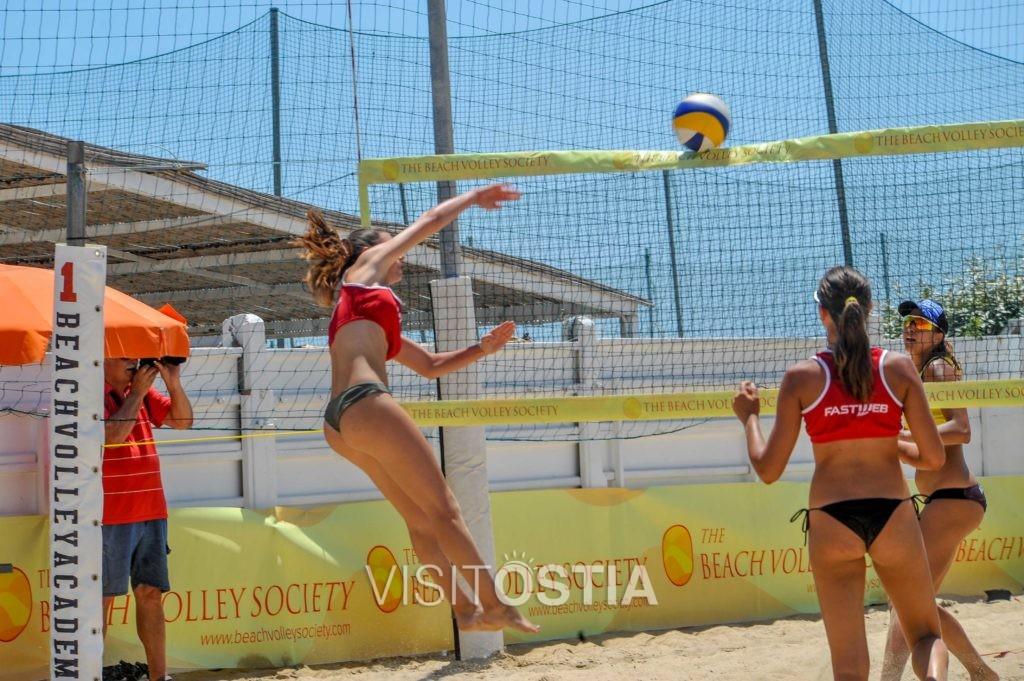 Beach volley a Ostia