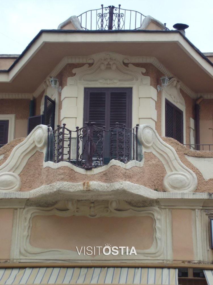 VisitOstia - villino in Via Lucio Coilio, dettaglio
