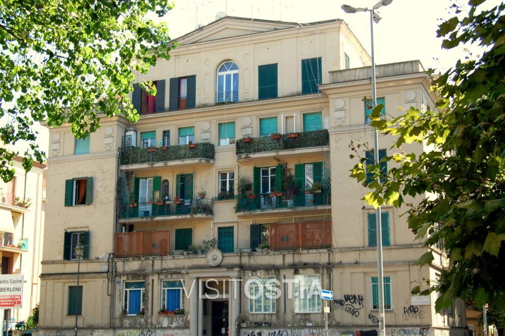VisitOstia, palazzina in Piazza Duca di Genova
