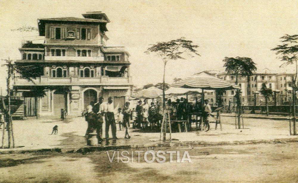 VisitOstia, Piazza Tor San Michele (anni '20)