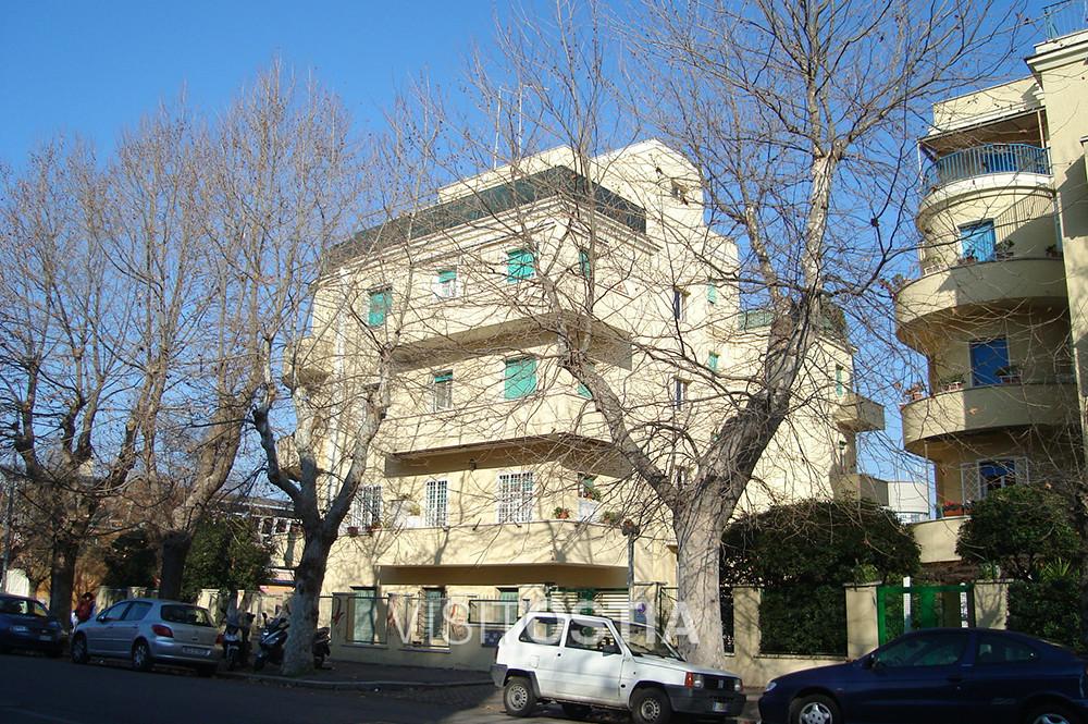 VisitOstia, palazzine in Via Rodolfo Grimaldi Casta
