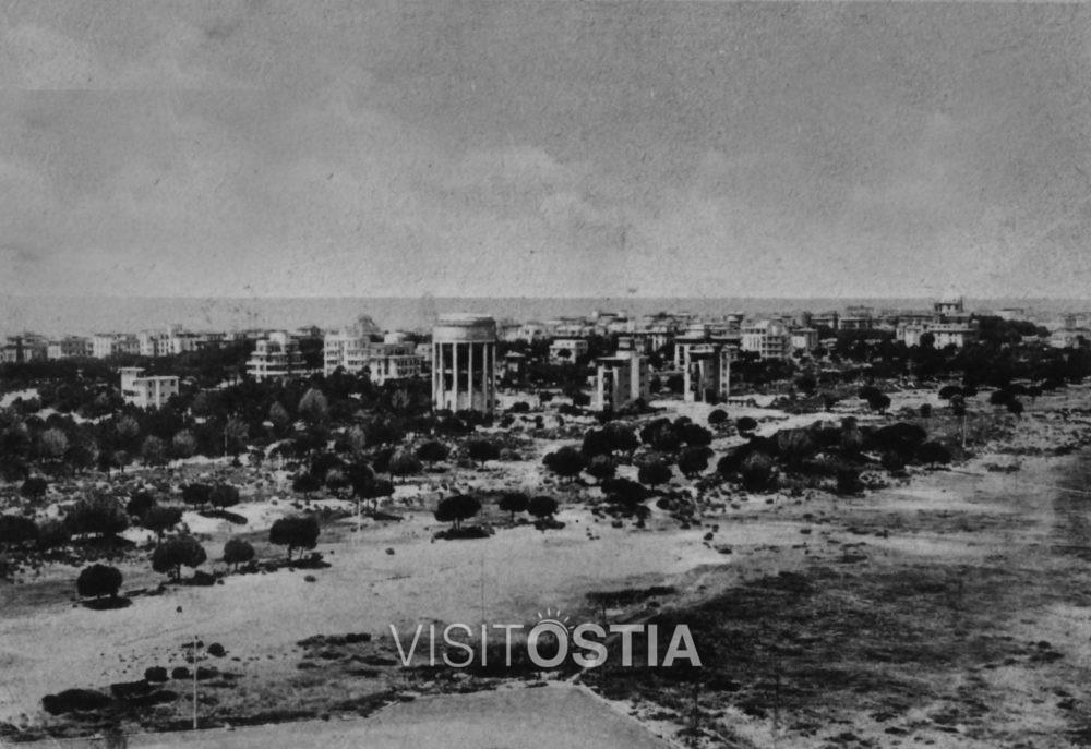 VisitOstia, il serbatoio idrico e le palazzine di Adalberto Libera (anni '30)