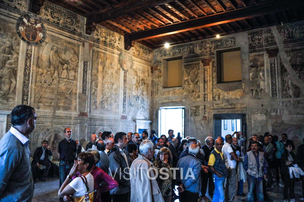 VisitOstia - Ostia Antica, sala Riario