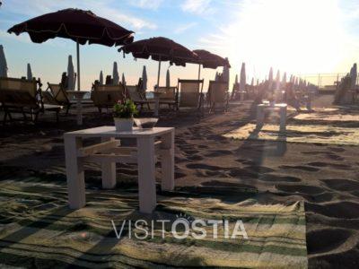 VisitOstia - aperitivo in spiaggia