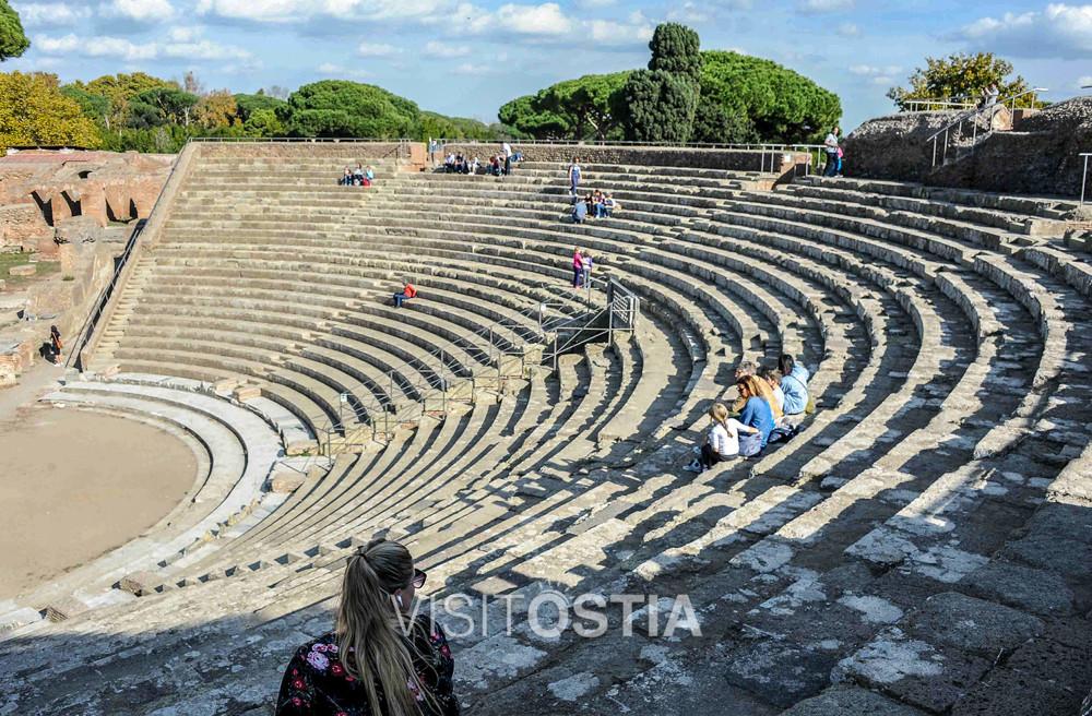 VisitOstia - il Teatro Romano di Ostia Antica