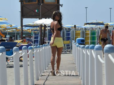 VisitOstia - passerella in spiaggia