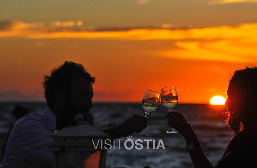 VisitOstia - Ostia aperitivo al tramonto