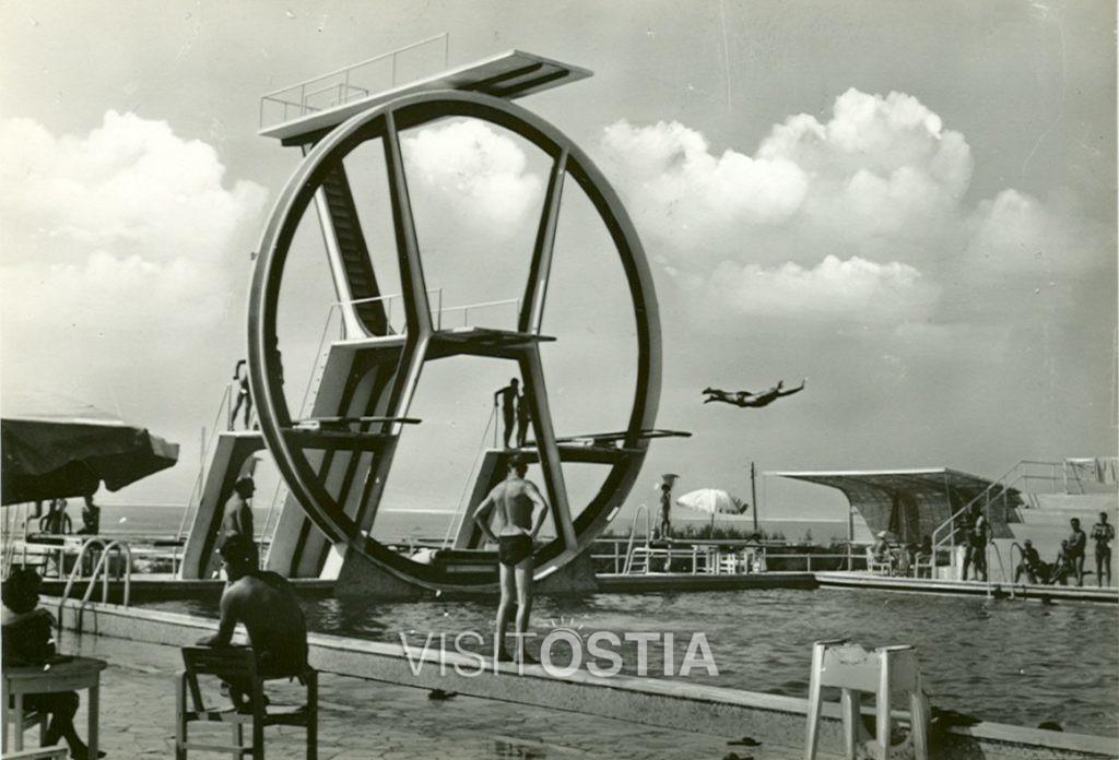 VisitOstia - Stabilimento balneare Kursaal - Il trampolino