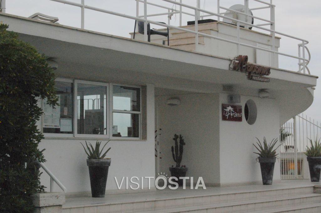 VisitOstia - Stabilimento Balneare Il Capanno (ex Duilio), il fronte verso il lungomare
