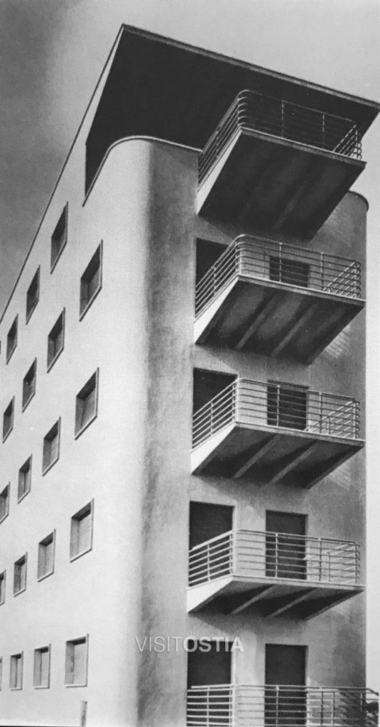VisitOstia - palazzina di Adalberto Libera a Viale della Vittoria (anni '30)
