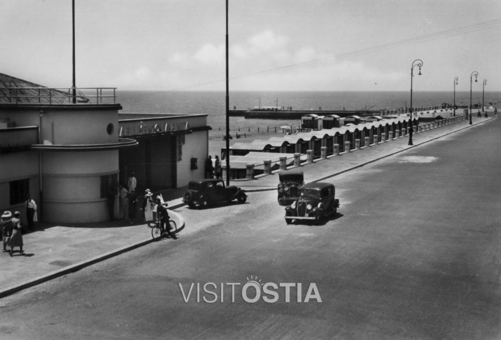 VisitOstia - stabilimento balneare La Vecchia Pineta (anni '30)