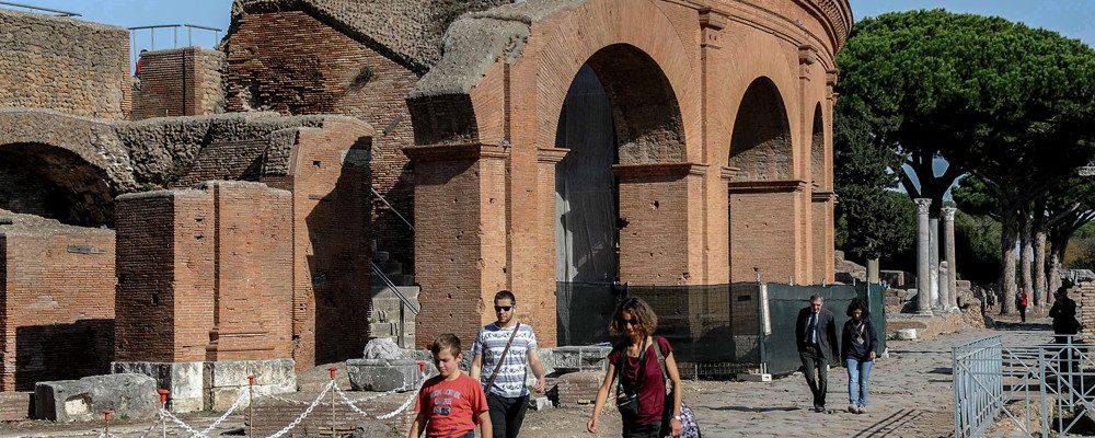 Ostia archeological park