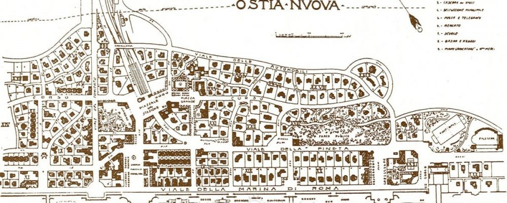 Ostia: the 1916 City Plan