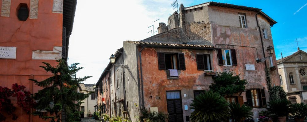 Ostia Antica: the village