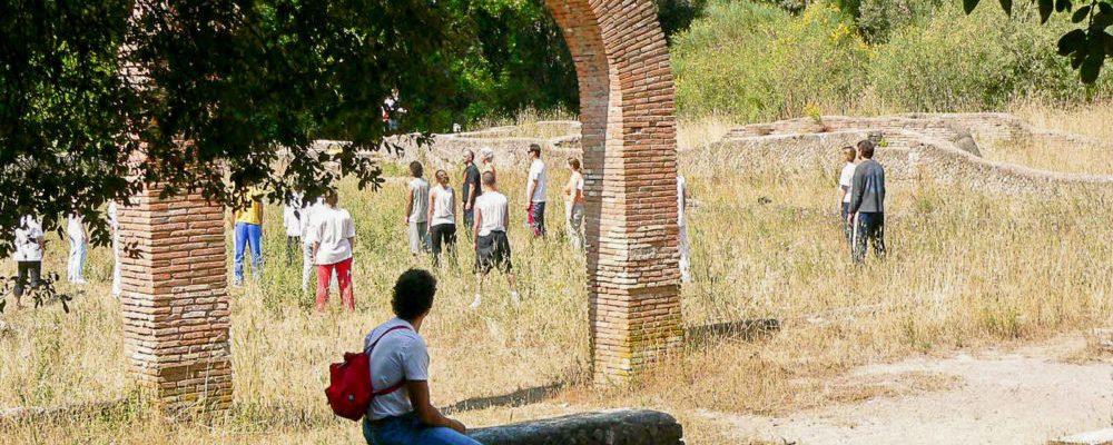 Plinius' Villa in Castel Fusano