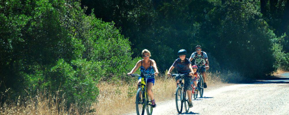 Eastern Ostia bicycle path