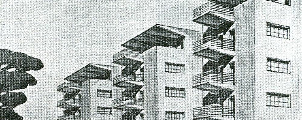 Palazzine by Adalberto Libera at Viale della Vittoria